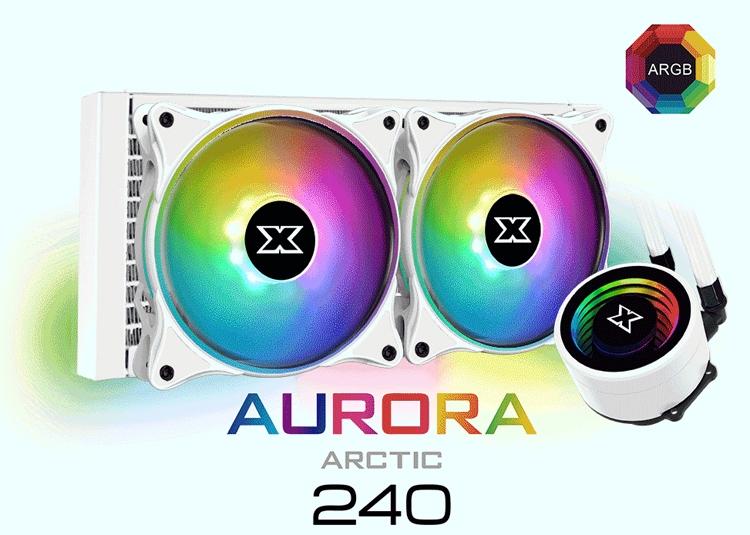 Xigmatek Aurora Arctic 240: «зимняя» СЖО с многоцветной подсветкой