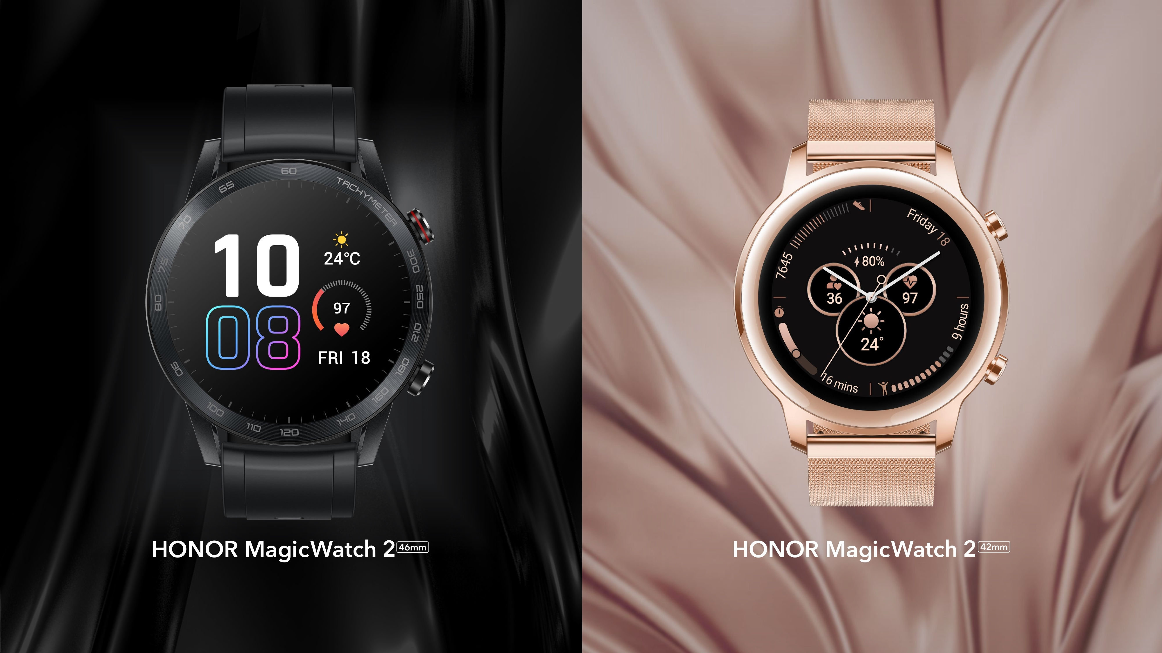 Honor Watch Magic 2 — смарт-часы для поклонников активного образа жизни поступают в продажу в России