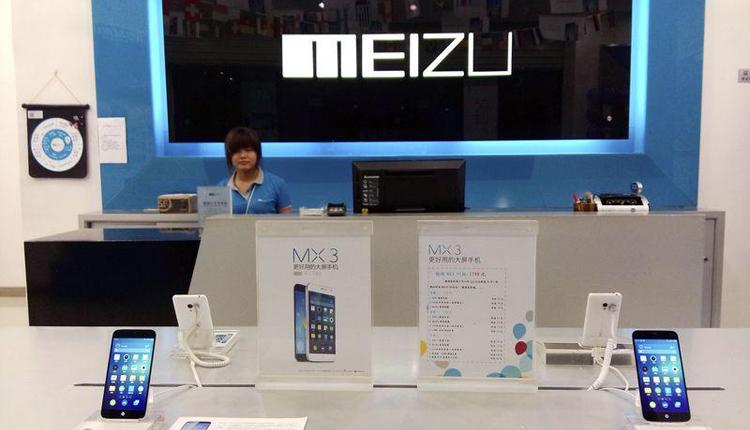 флагманский смартфон meizu показался рендере