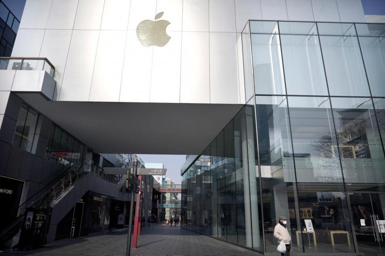 14 февраля Apple возобновит работу нескольких магазинов в Пекине