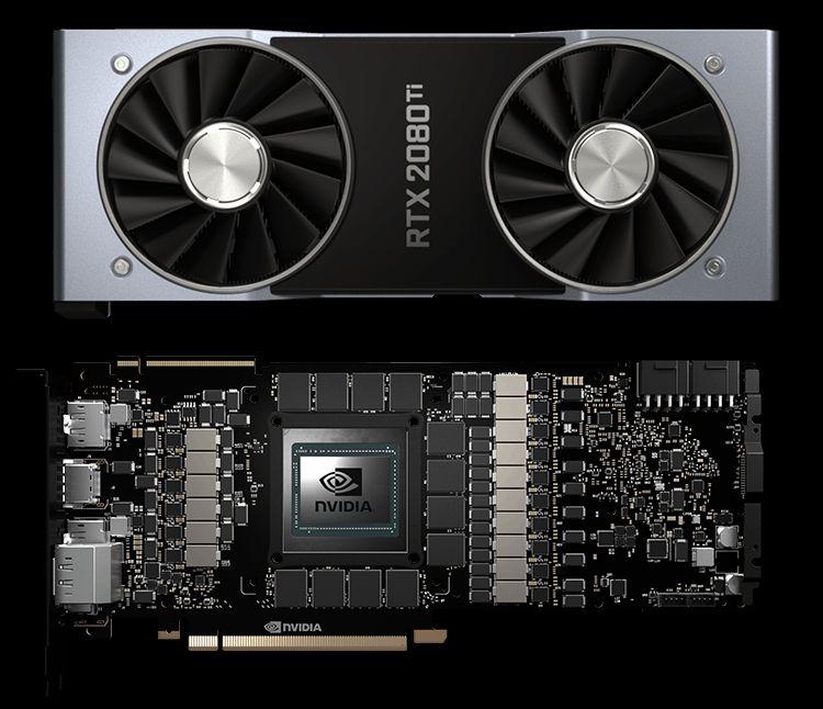 Парк видеокарт GeForce RTX растёт уверенными темпами