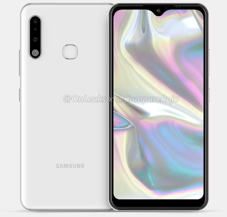 Смартфон Samsung Galaxy A70e получит экран Infinity-V и тройную камеру