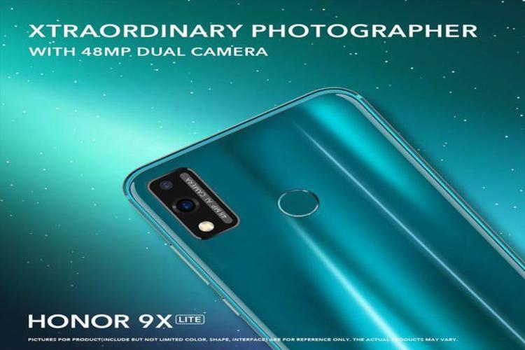 Смартфон Honor 9X Lite с 48-Мп камерой рассекречен до анонса