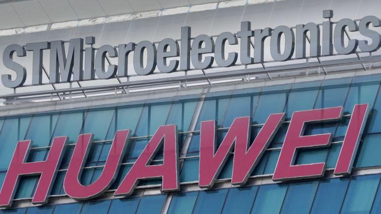 huawei прибегнуть помощи stmicroelectronics американские санкции