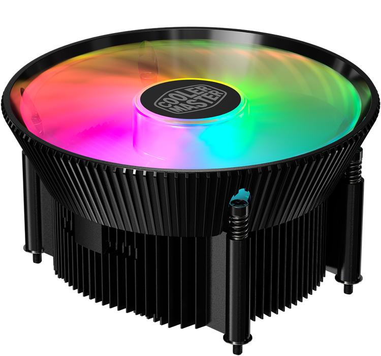 Компактный охладитель Cooler Master A71C для AMD Ryzen оснащён120-мм вентилятором