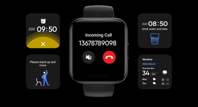 смарт-часы realme watch датчиком чсс оценены
