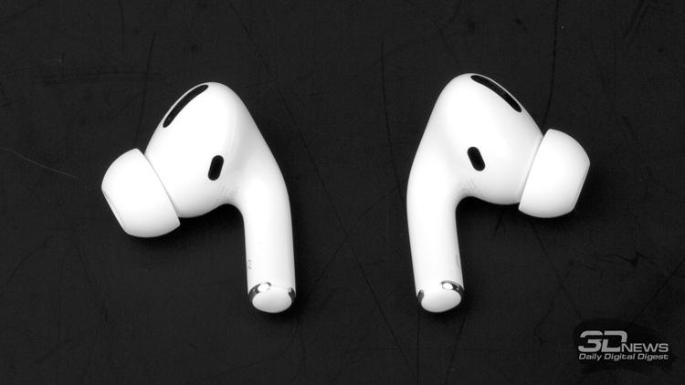 Будущие наушники Apple AirPods могут получить датчики освещённости