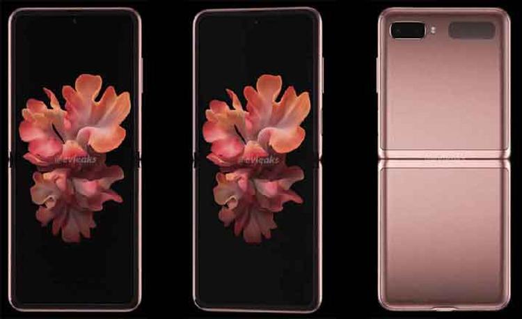 Видео демонстрирует раскладной смартфон Samsung Galaxy Z Flip 5G со всех сторон