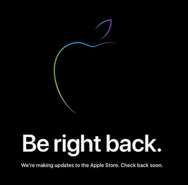 Apple закрыла свой интернет-магазин, чтобы пополнить новыми продуктами после сегодняшней презентации