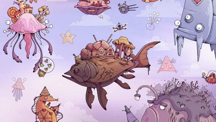 Вселенная рыбных планет: приключение Tohu выйдет на ПК и консолях в этом году