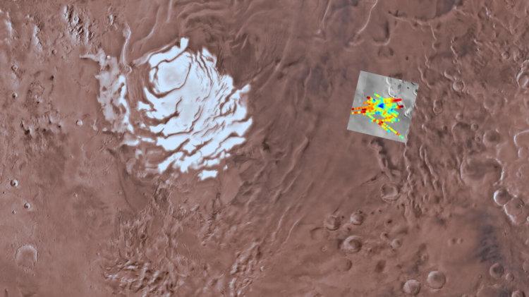 Учёные обнаружили на Марсе место с потенциально возможной инопланетной жизнью