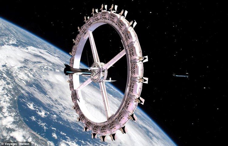 Строительство первого в мире космического отеля начнётся в 2025 году