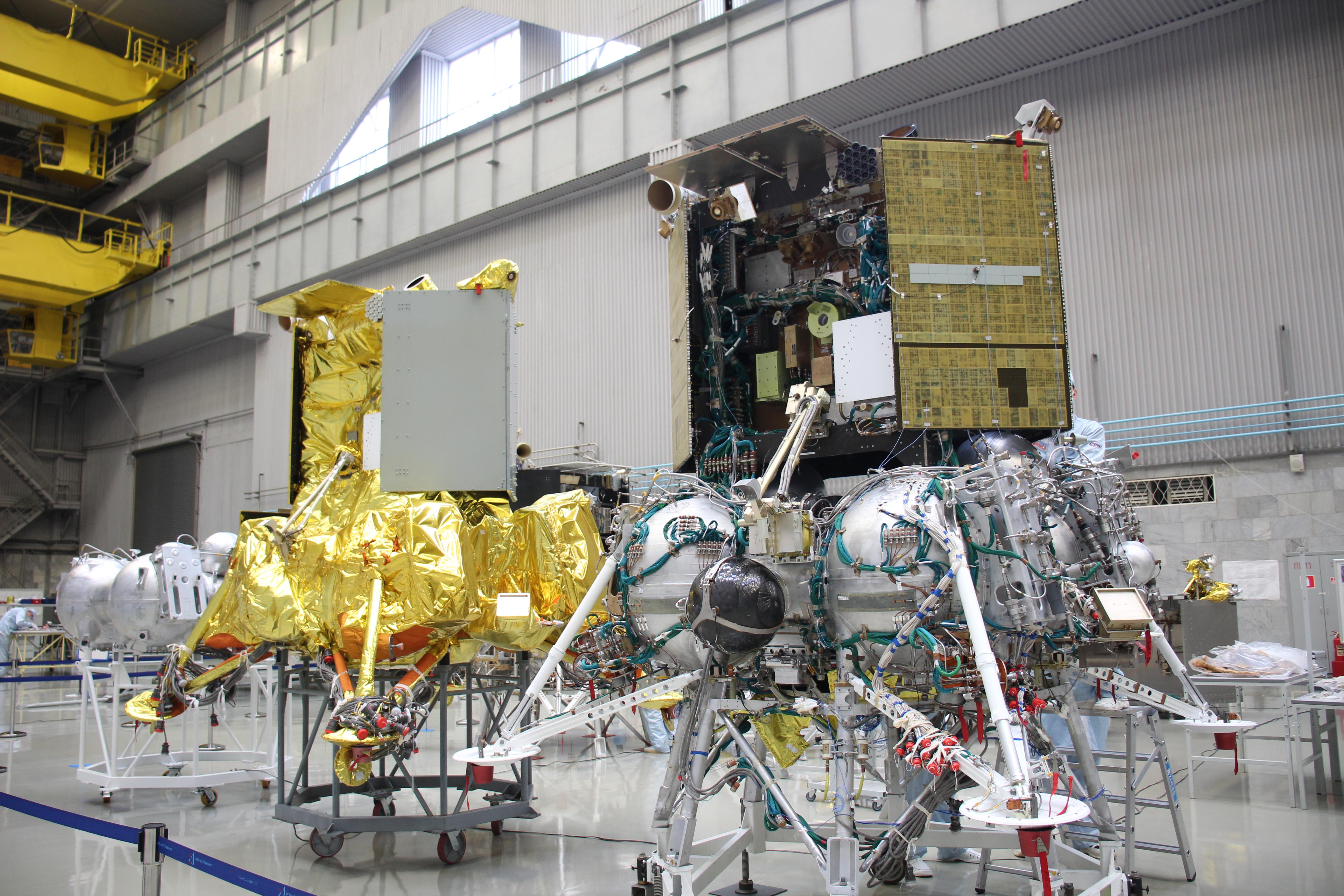 «Роскосмос» поделился подробностями о миссии «Луна-25» за полгода до старта