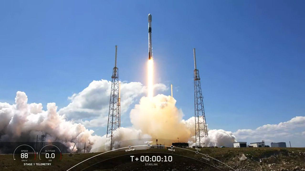 SpaceX вывела ещё 60 спутников Starlink и приближается к первоначальной цели в 1440 аппаратов