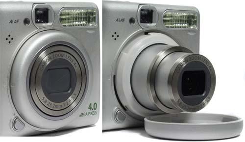 Canon PowerShot A520.