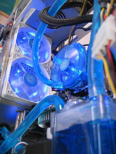 Водяная система охлаждения 3D