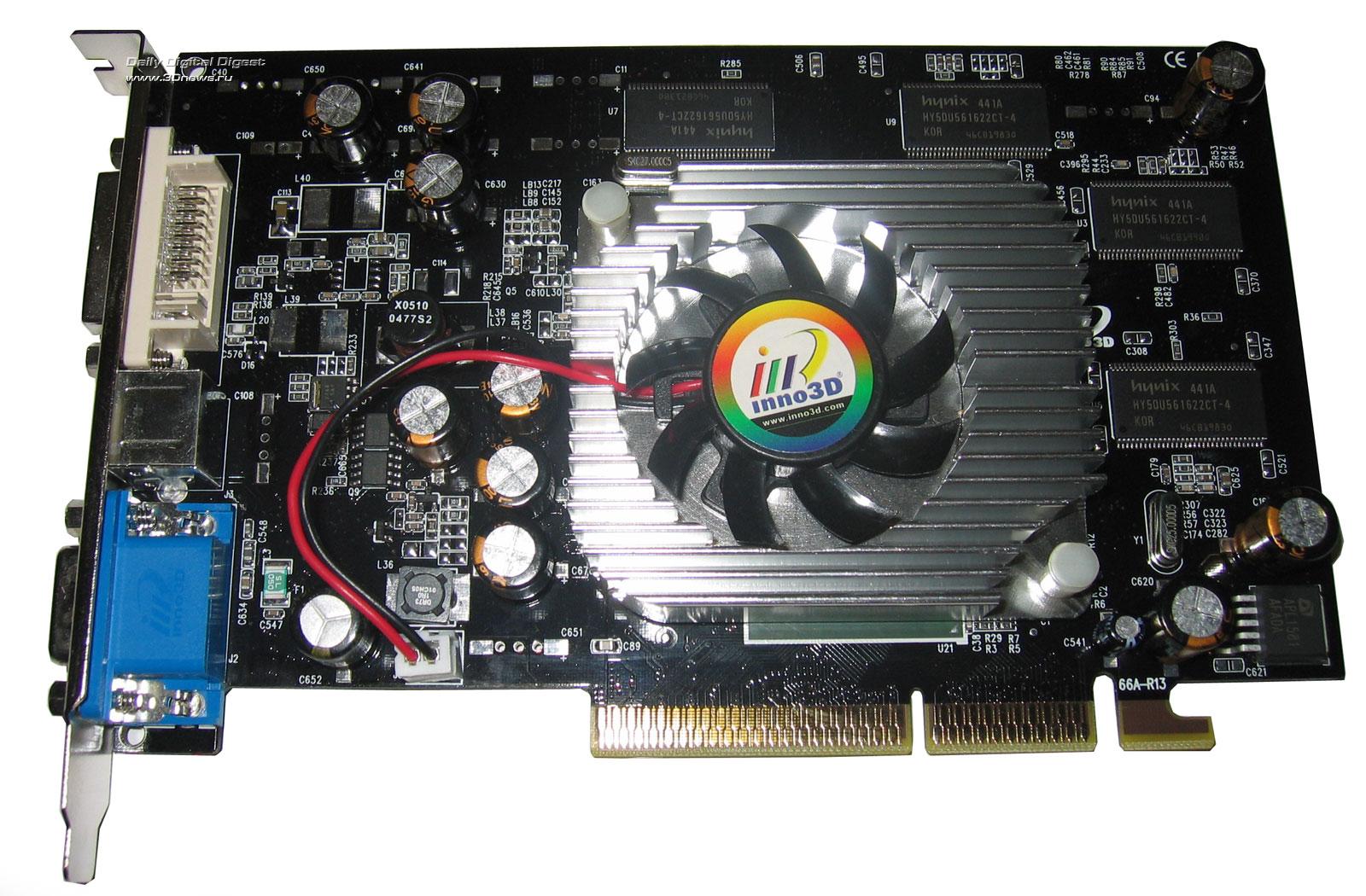 Видеодрайвер Geforce 6600