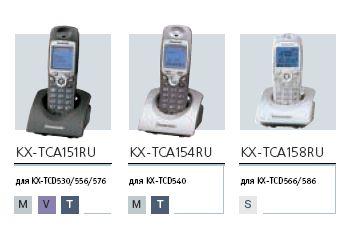 Дополнительные трубки к DECT-телефонам  Panasonic серии  500