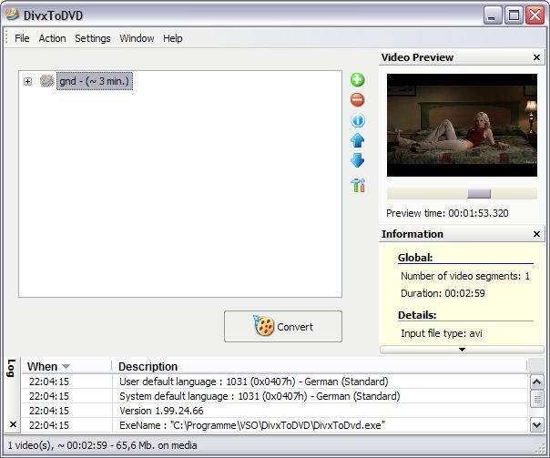 ConvertXToDVD 3.7.2 скачать бесплатно ConvertXToDVD.