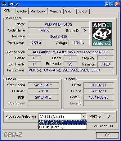 Athlon 64 X2 4800+