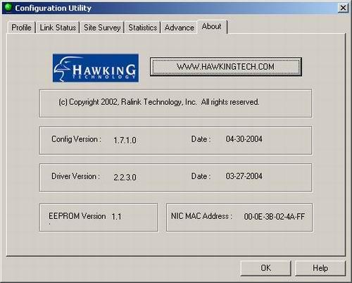 Hawking hwc54g