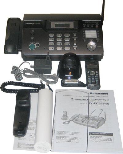 Panasonic Kx-tc1743b инструкция на русском - фото 8