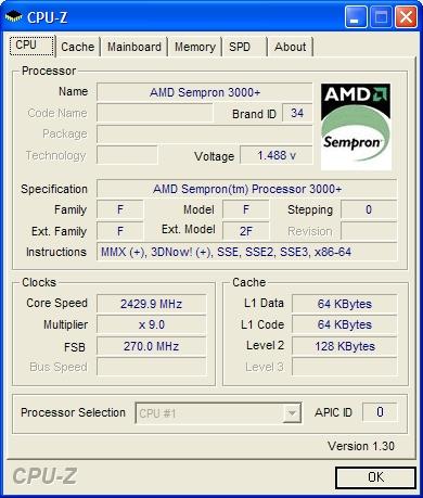Sempron 3000+ for Socket 939