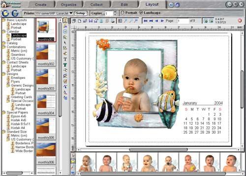 Как сделать календарь в фотошопе cs3
