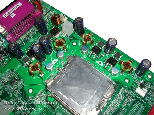 преобразователь напряжения процессора