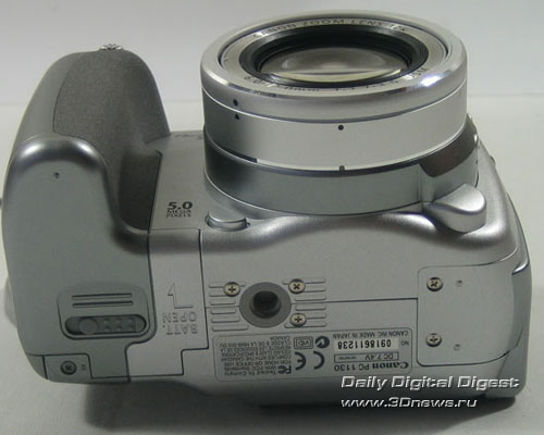 Внешний вид Canon PowerShot S2 IS