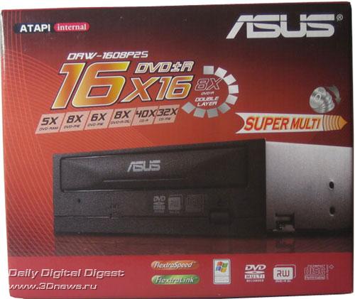 Коробка ASUS DRW-1608P2S