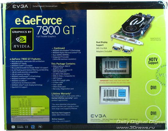 EVGA 7800GT CO