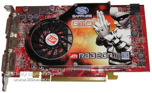Sapphire X800GTO2 256 MB