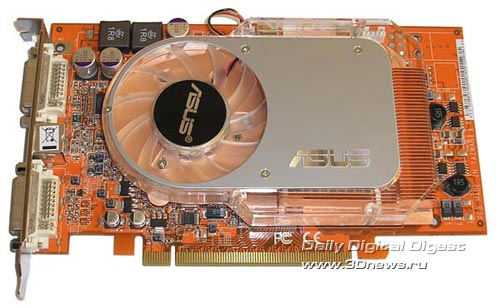 ASUS X800GTO 256 Мб