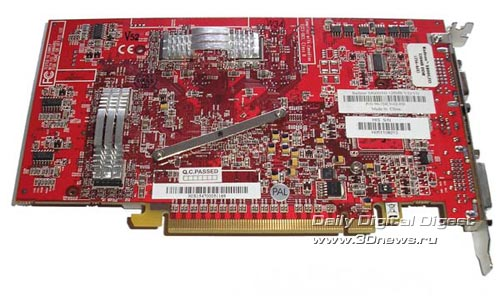 HIS X800GTO 128 Мб
