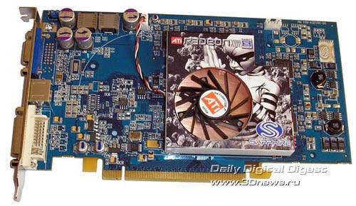 Sapphire X800GT 128Мб
