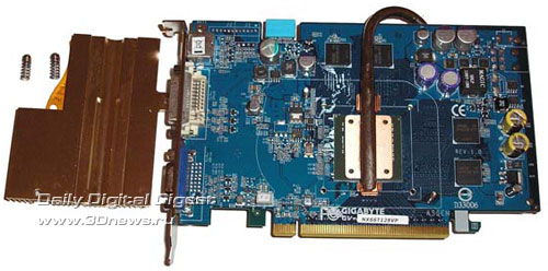 GigaByte GeForce 6600GT SILENT-PIPE 128 Мб