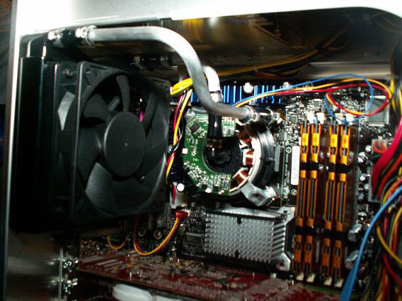 Intel water cooling