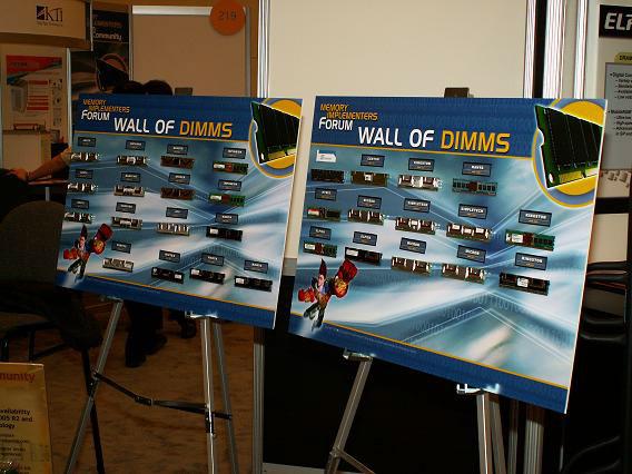 IDF Wall of DIMMS