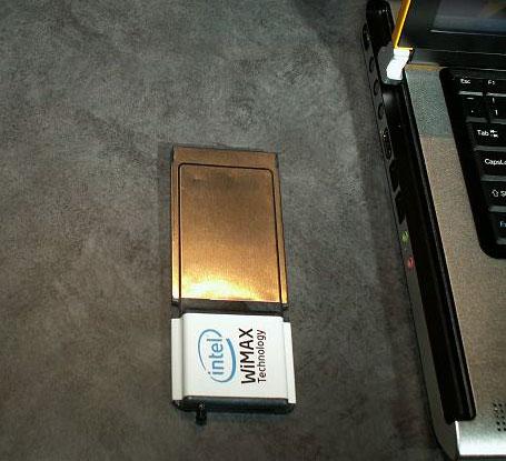 PCMCIA WiMax - 802.16e