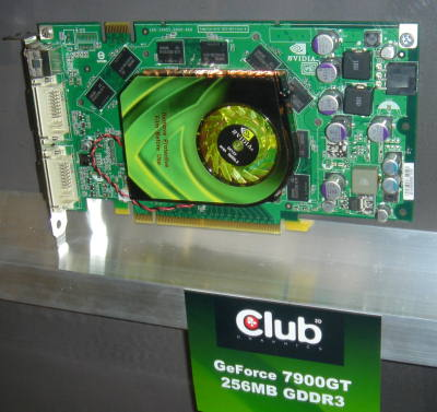 NVIDIA GeForce 7900GT Club 3D