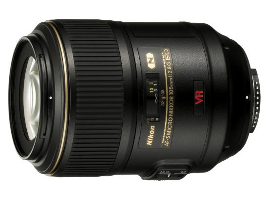 Объектив для макросъемки AF-S Micro-Nikkor 105 мм f/2,8G IF-ED