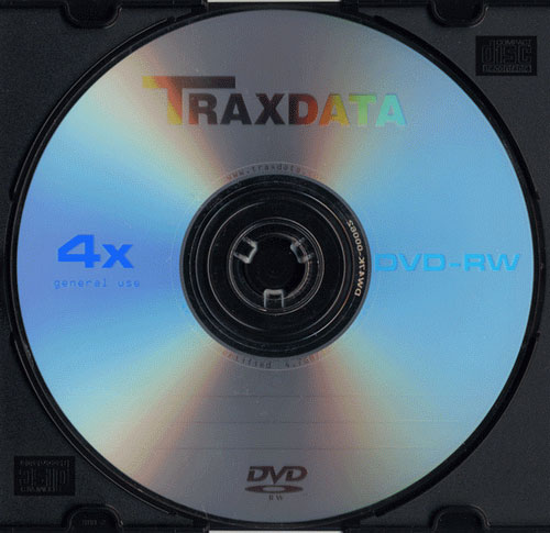TRAXDATA DVD-RW 4x