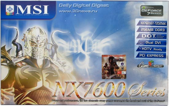 MSI NX7600GT