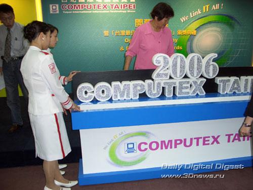 открытие Computex 2006
