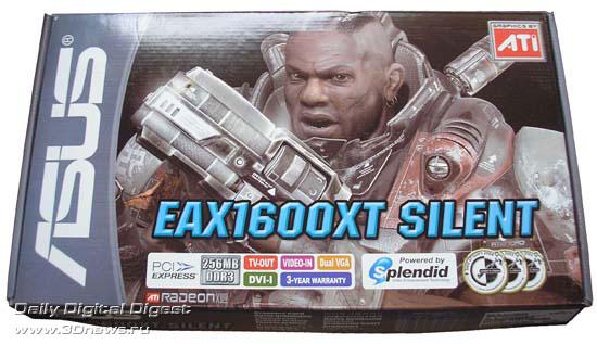 коробка с ASUS EAX1600XT SILENT