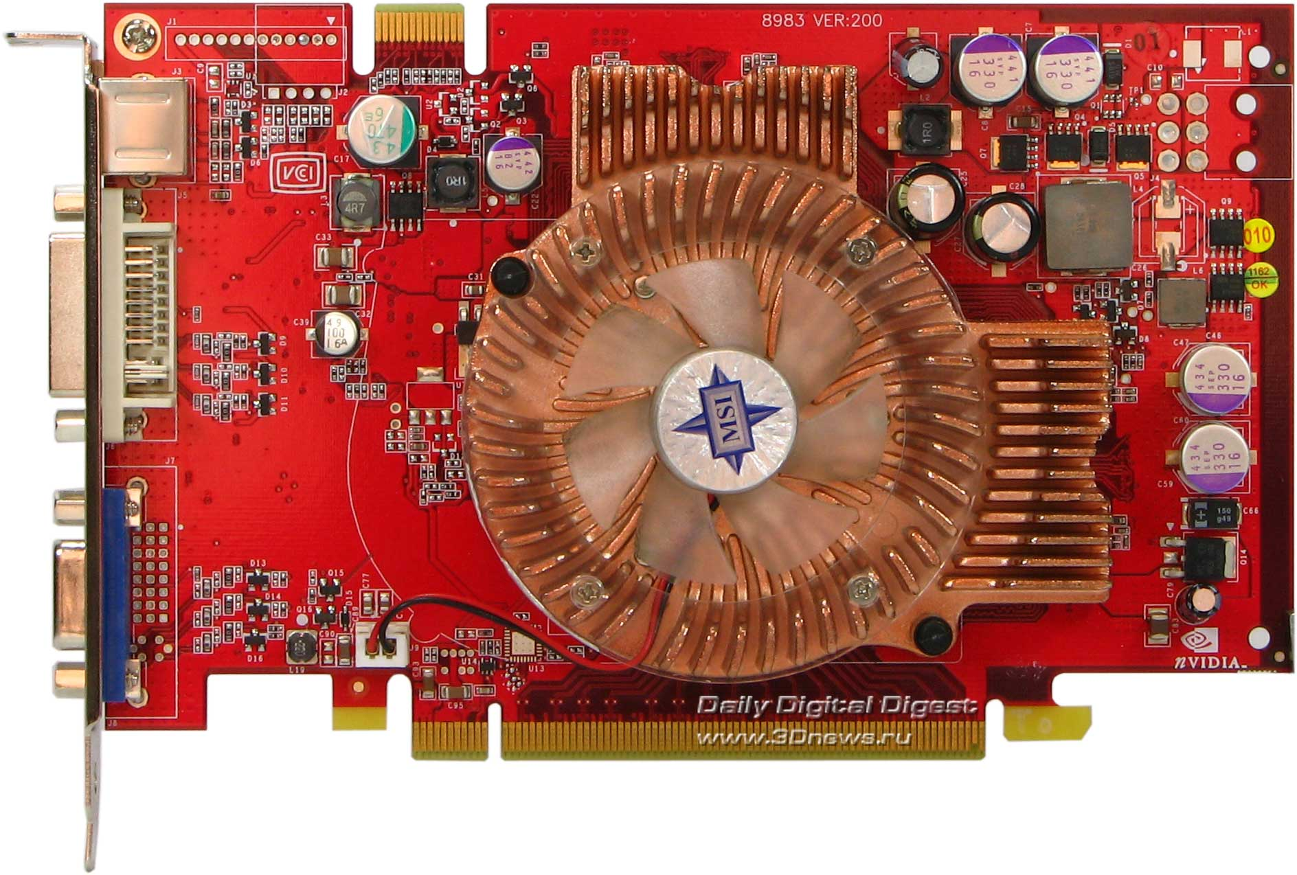 Msi 6600gt 128MB PCI-E
