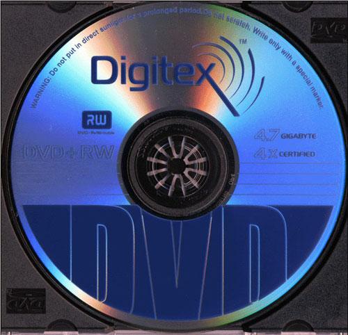 Digitex DVD+RW 4x