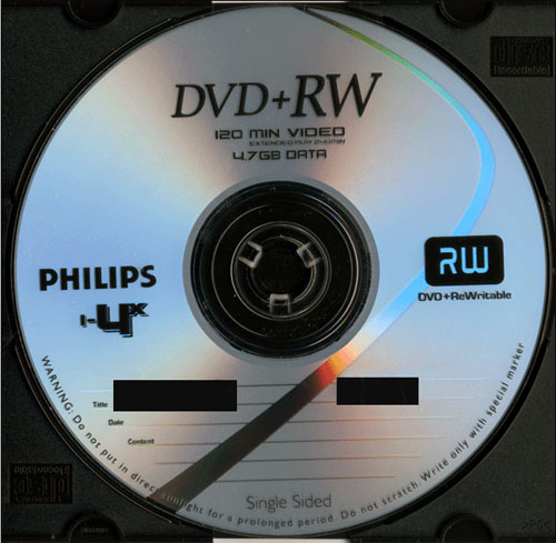 Philips DVD+RW 4x