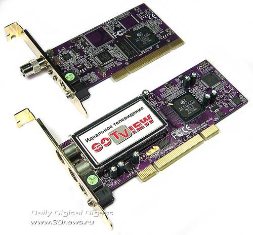 GoTView PCI DVD2 Lite и GoTView PCI DVD2 Deluxe